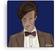 Doctor Who? 11th Doctor Canvas Print