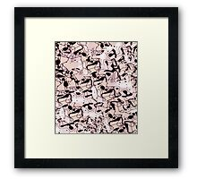Funky Chairs Framed Print