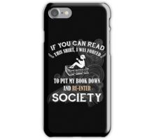 BOOK - SOCIETY iPhone Case/Skin