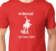 Beauty Is in the Street (white) Unisex T-Shirt