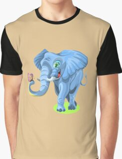 The Elephant Graphic T-Shirt