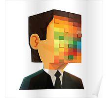 pixel head Poster