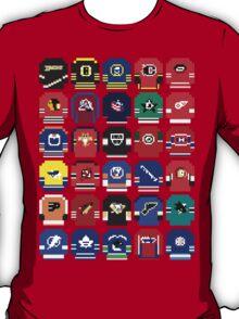 8-Bit Hockey Jerseys T-Shirt