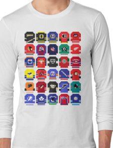 8-Bit Hockey Jerseys Long Sleeve T-Shirt