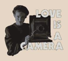 Love Is A Camera (Design C - LIGHT) by RobC13