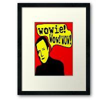 Walken: Wowie Wow Wow! Framed Print