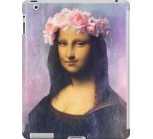 Mona Lisa Flower Crown iPad Case/Skin
