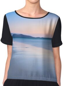 Across the Bay Chiffon Top