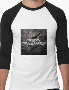 Midnight Tyrannosaurus Claw Men's Baseball ¾ T-Shirt