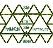 So Much Internet So Little Time Photographic Print