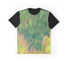 """Green Foliage"", pastel drawing, life sketch, nature art Graphic T-Shirt"