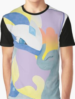 Amaura and Aurorus Graphic T-Shirt