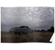 Under Stormy Skies Poster