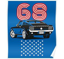 American Stang 68 Poster
