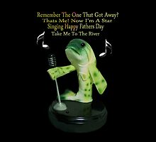 ☝ ☞FUN SINGING FISH- HAPPY FATHERS DAY THROW PILLOW & ANIMATION/CHK OUT NEW VIDEO I MADE WITH THIS PICTURE HUGS☝ ☞ by ✿✿ Bonita ✿✿ ђєℓℓσ