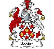 Baxter Coat of Arms / Baxter Family Crest Photographic Print