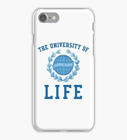 University of Life - Carpe Diem iPhone Case/Skin