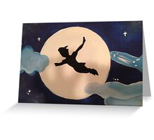 Peter Pan's Flight Greeting Card