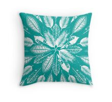 San Francisco Leaves 2 Throw Pillow