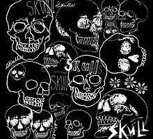 Sketchbook Skull Doodles  by ArtVixen