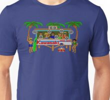 CALIFORNIA GAMES - SURF FAIL - MASTER SYSTEM Unisex T-Shirt