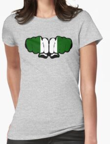Nigeria! (Standard) Womens Fitted T-Shirt