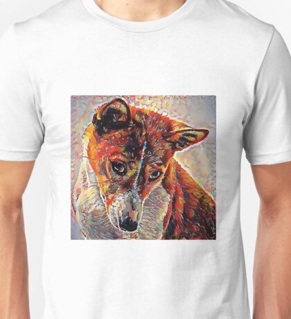 Basenji - A Portrait in Oil Unisex T-Shirt
