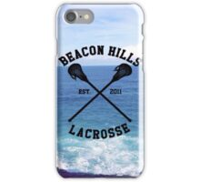 Teen Wolf Lacrosse iPhone Case/Skin