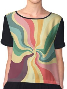 Space And Time Chiffon Top