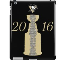Pittsburgh Penguins Stanley Cup Champs 2016 iPad Case/Skin