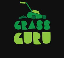 GRASS GURU (with lawn mower) Unisex T-Shirt
