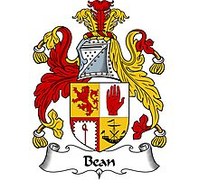 Bean Coat of Arms / Bean Family Crest Photographic Print
