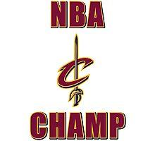 NBA Champ Photographic Print