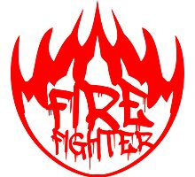 Firefighter Feuer Flammen Graffiti Logo by Style-O-Mat