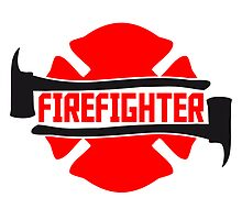 Firefighter Axt Logo by Style-O-Mat