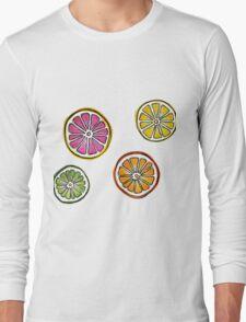 summer fruit Long Sleeve T-Shirt