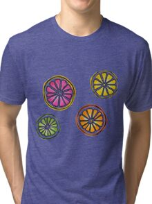 summer fruit Tri-blend T-Shirt