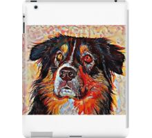 Australian Shepherd - A Portrait in Oil iPad Case/Skin
