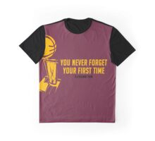 Never Forget Your First Time, Cleveland! Graphic T-Shirt
