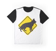 Yield to Dogs Graphic T-Shirt