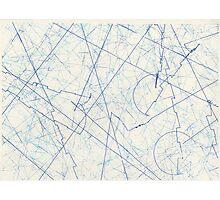 EXTERMINATE Blue Photographic Print
