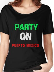 PARTY ON T-SHIRTS Women's Relaxed Fit T-Shirt