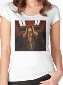 Primal Scream Women's Fitted Scoop T-Shirt