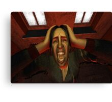Primal Scream Canvas Print