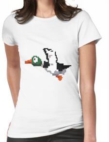 Hunted Duck  Womens Fitted T-Shirt