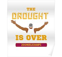 Drought is Over 2016 World Champs Poster