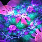 julian pool of flowers by LoreLeft27