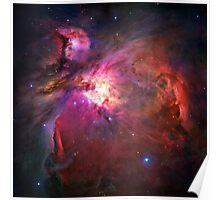 Orion Nebula [Pink] | Infinity Symbol | Fresh Universe Poster