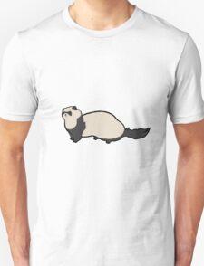 Cute Ferret Unisex T-Shirt