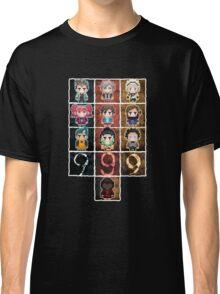 9 sprites 9 persons 9 pixels Classic T-Shirt
